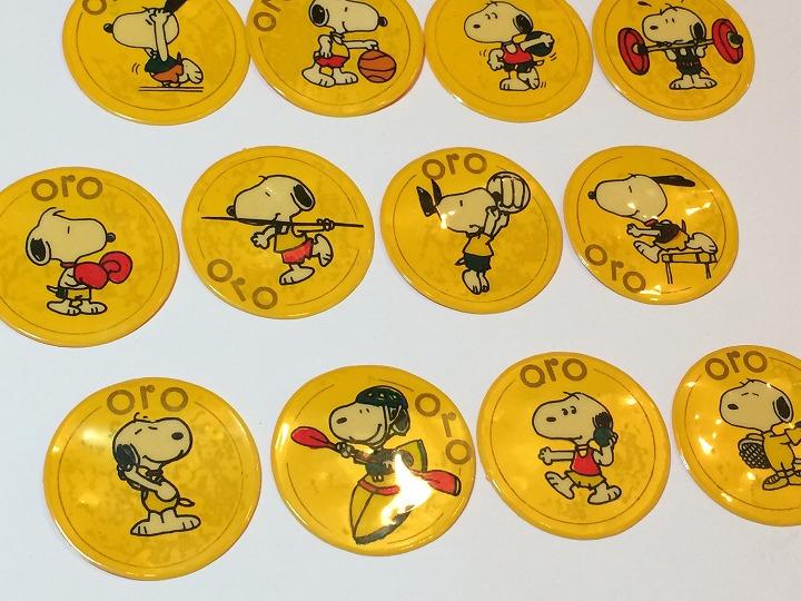レア!! 1988年 ソウルオリンピック ヴィンテージ スヌーピー バッジ バッチ TOY SNOOPY PEANUTS                                    [pe-1028]
