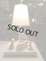 オルゴール付!!  アンティーク ナーサリー ランプ ナイトランプ NURSERY テーブルランプ ヴィンテージ vintage USA